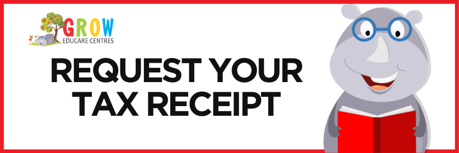 request your tax receipt