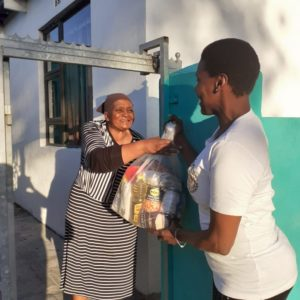 Food Parcel Donation Hunger Relief COVID19 GROW Educare Centres